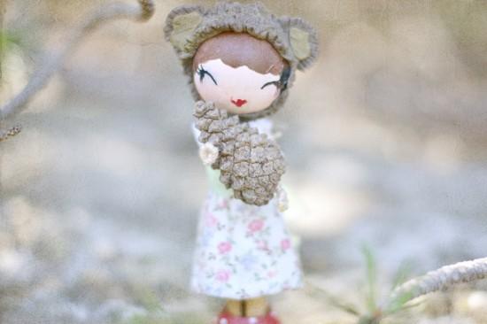 Wood Doll