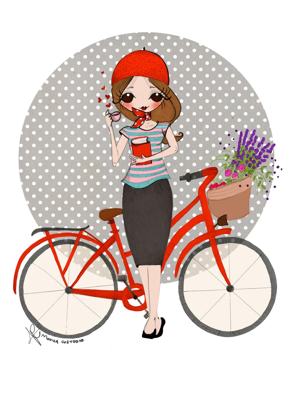 Ilustración personalizada de retrato