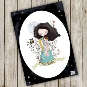 Ilustración personalizadas para madres