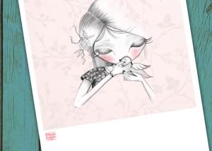 Ilustración personalizada Mónica Custodio