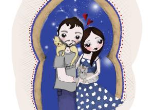 Ilustración para regalo original