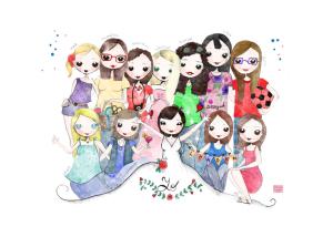 Ilustración grupo