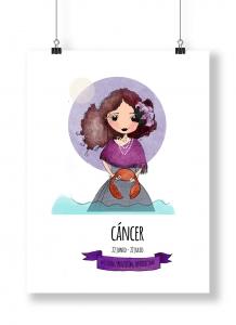 Ilustración de Horoscopo Cancer
