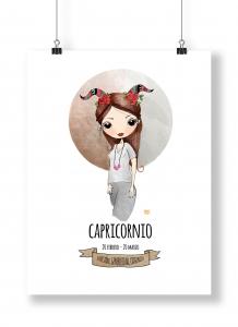 Ilustración de Horoscopo Capricornio