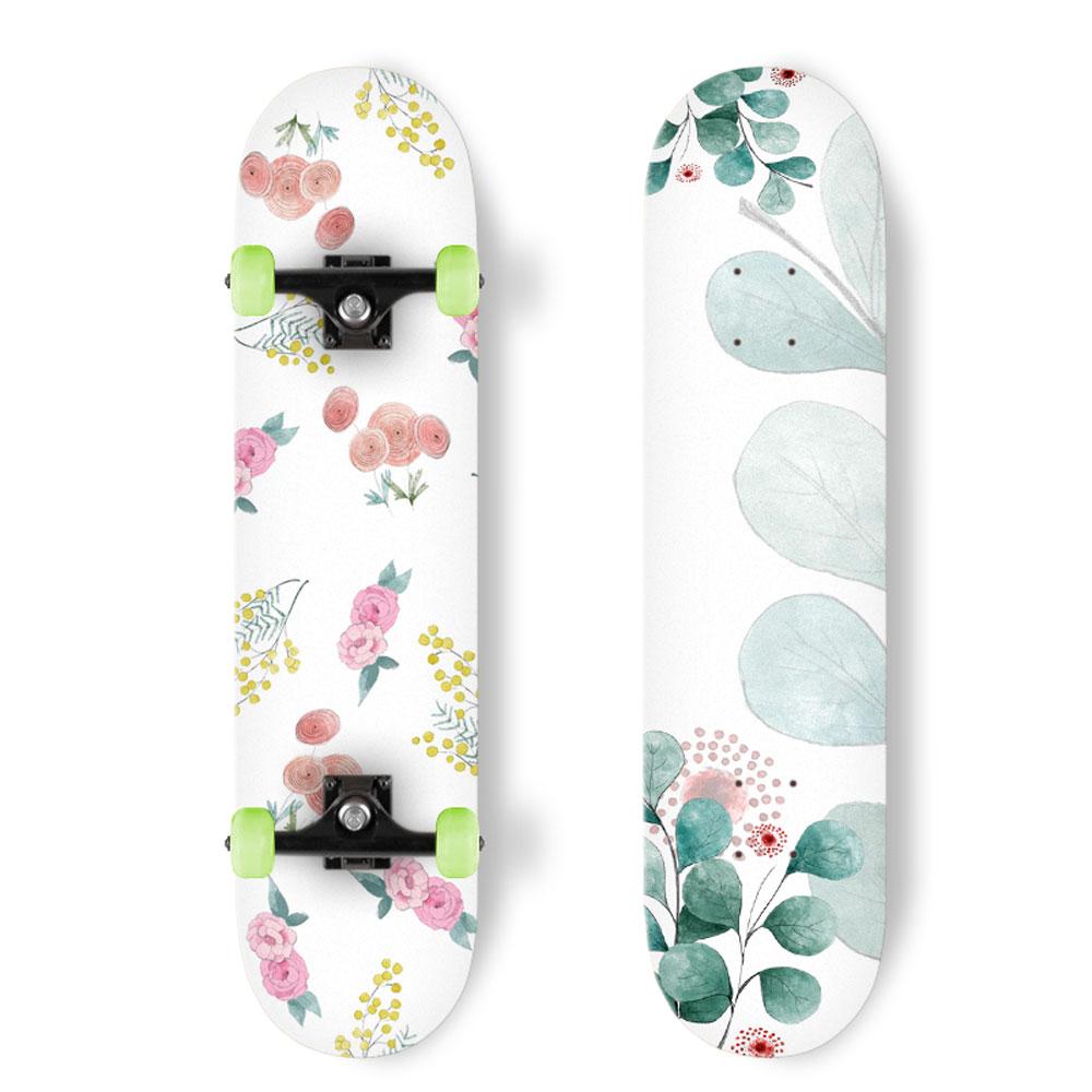 Diseño ilustrado de SkatesBoards