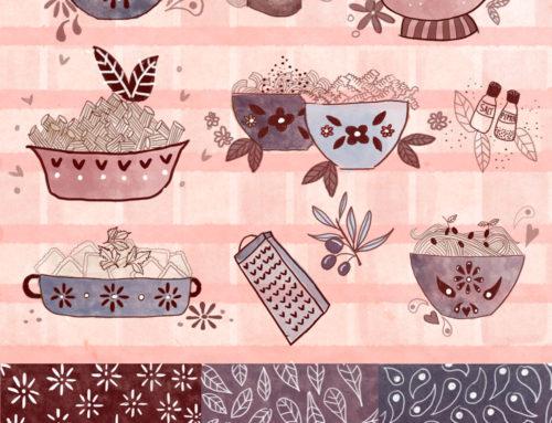Bolt fabric pattern MATS A
