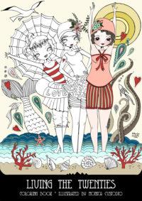 Libro para colorear Mónica Custodio