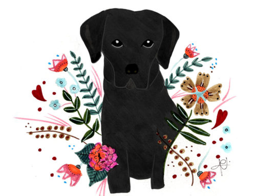 Retrato mascotas – Labrador