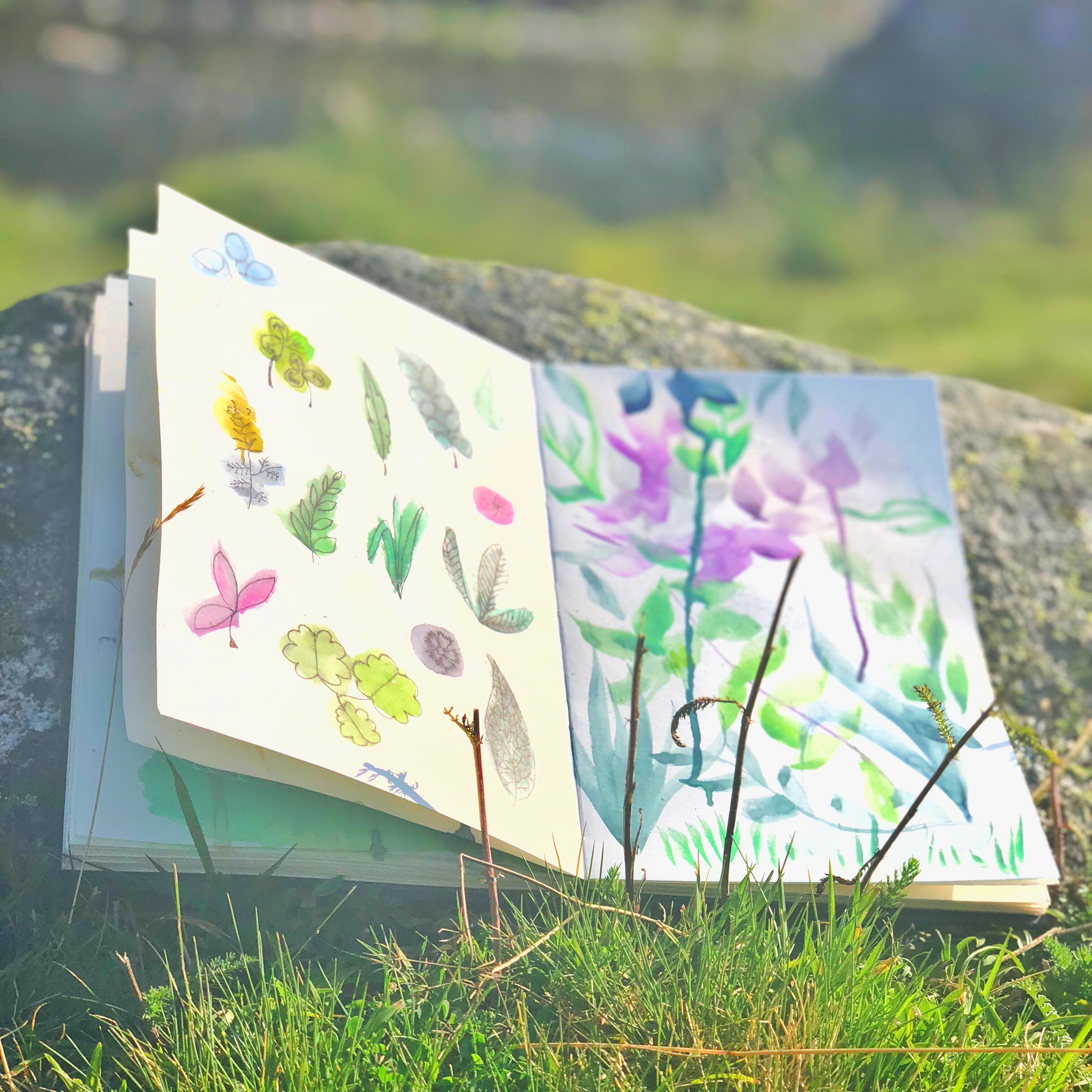 Sketchbook Monica Custodio