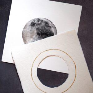 detalle mini luna acuarela